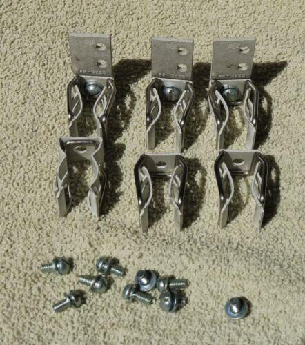 C-H C350KD22 Fuse Clip Kit for Type H, K or R Fuses 60A 250V Size 2
