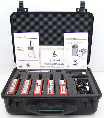 Tested Working Quest Q-200 Noise Dosimeter W Qc-10 Calibratormanualmiccase A