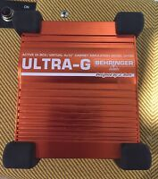 Behringer ultra-g active di-box Laval / North Shore Greater Montréal Preview