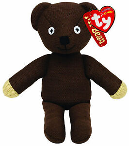 TY BEANIE MR BEAN TEDDY BEAR SOFT TOY 9 INCH NEW GIFT