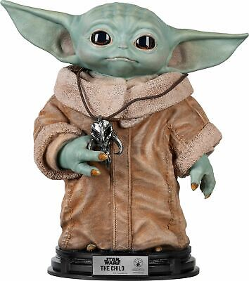 Star Wars The Child Baby Yoda Season 2 of Mandalorian Life Size Statue IN-STOCK