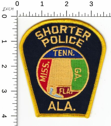 SHORTER POLICE SHOULDER PATCH ALABAMA AL