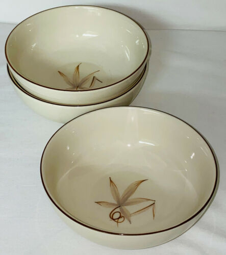 """3 Winfield China * PASSION FLOWER*5 3/4"""" CEREAL BOWLS*"""