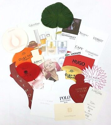 20 x Duftkarten / 20 x perfumed card / 20 x carte parfumée *LOT 002*