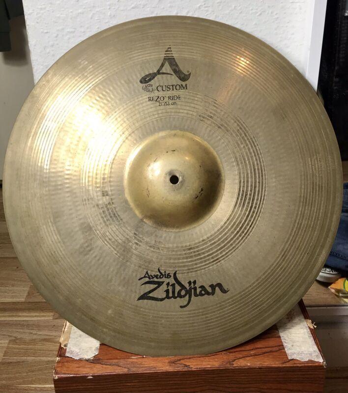 """Zildjian A Custom Rezo Ride 21"""" Cymbal"""