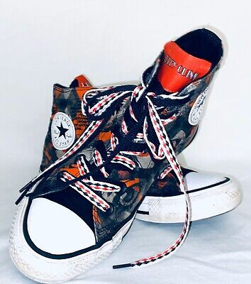 Converse Harley Quinn All Star High Top Sneakers Shoes Women's-7 Men's-5 NICE