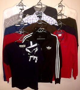Men's Small Assorted Tops Lot # 24