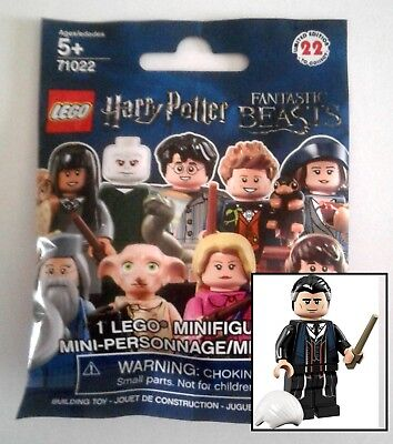 LEGO Harry Potter CMF PERCIVAL GRAVES 71022 factory sealed package NEW