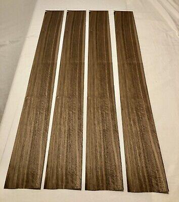Walnut Wood Veneer 4 Sheets 116 Thick 50.5 X 6 8 Sq Ft
