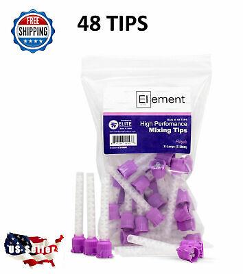 50 Hp Purple Large Mixing Tips 7.5 Mm Dental Vpspvs Impression