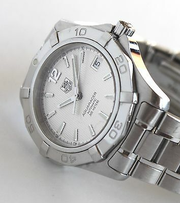 TAG HEUER Luxury Men's Watch, AUTOMATIC Aquaracer model, WAF2111, MSRP: $2250