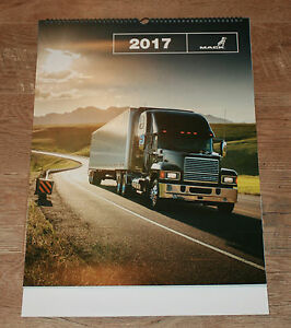 2017 MACK TRUCKS WALL CALENDAR