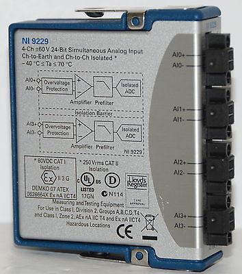 New  National Instruments Ni 9229 Analog Input Module