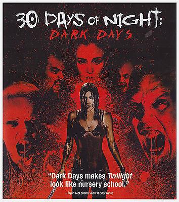 30 DAYS OF NIGHT DARK DAYS (Blu-ray,