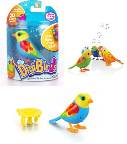 SilverLit+Battery+Operated+DigiBird+Single+Figure+With+Whistle+Ring+Moving+Heads