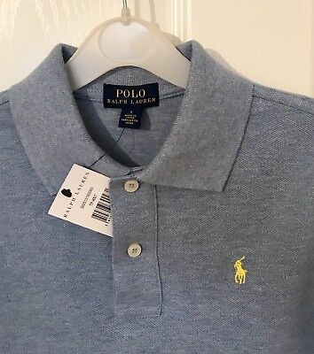 Ralph Lauren Polo boys Blue Size 7 Year New With Tags
