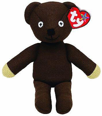 "TY Beanie Baby Buddy  * TEDDY * Mr Bean Large Buddie 15"" (38 cm) Tall Brand New"