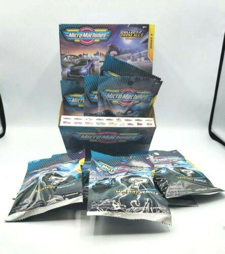 Micro Machines Series 3 -made in 2020- 27 Single Blind Packs Bags w/Display Box