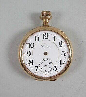 Hamilton #992 21 Jewel Railroad Grade Pocket Watch 16 Size Running