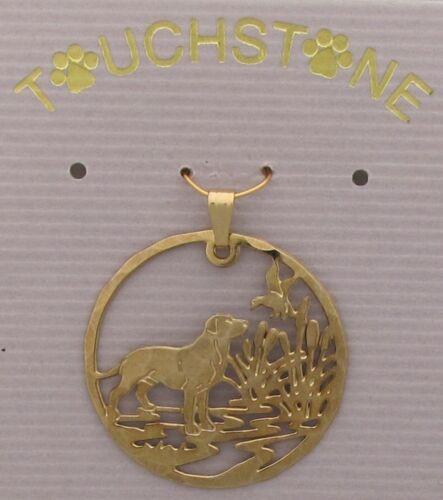 Labrador Retriever Jewelry Dog in Marsh Pendant
