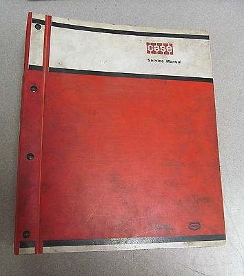 Case 1700 Uni-loader Service Repair Manual Burl 9-72095