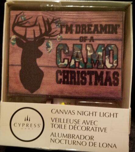 Cypress Home Designer Camo Night Light TV Party Christmas Gi