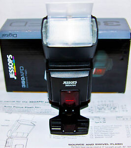 JESSOPS 360AFD C /  FLASHGUN   CANON DIGITAL  DSLR CAMERA  / Hotshoe Flash