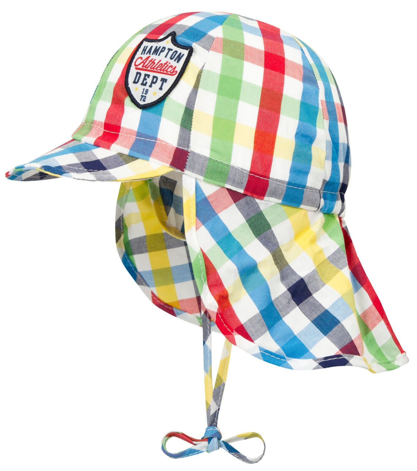 bb8ffc3983984 DÖLL® Jungen Sonnenhut Hut Schirm Nackenschutz Mütze Bunt 47-55 Sommer 2018  NEU
