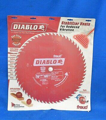Diablo D1660x Circular Saw Blade 16 516 Blade Dia. 1 Arbor