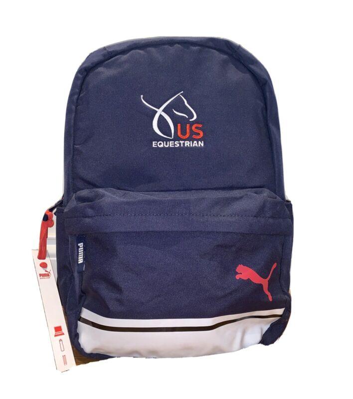 US Equestrian Lifeline Organizer Backpack Laptop & Water Bottle Pocket - Horse