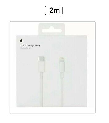 Genuine Apple A1702 USB-C To Lightning Cable (2m) For iPhone X XR...