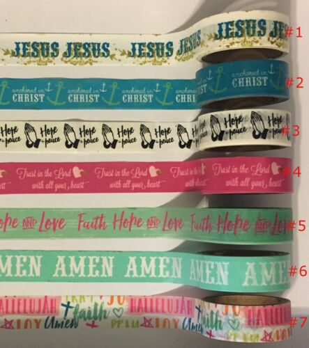 A/C LOT- Bible Journaling Washi tapes to pick from