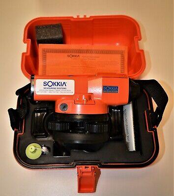 New Sokkia C41 Automatic Surveying Level With Hard Case Nos.