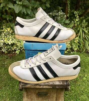 Vintage Adidas Gym Made In France 80s Kick Tahiti Tobacco Hawaii Action Tango Sl