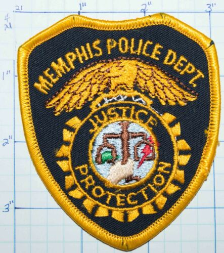 TENNESSEE, MEMPHIS POLICE DEPT PATCH