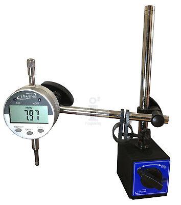 Igaging 35-510 Digital Indicator 80 Lb. Magnetic Base