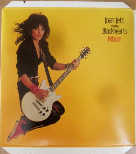 "Joan Jett - ALBUM 12""x12"" Promo Hanging Display [1983] - VG++"