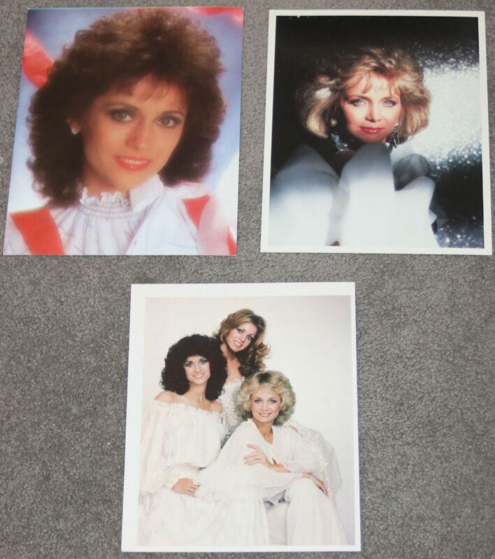 The Mandrells - Barbara Mandrell - THREE (3) promo photos  press photos photo