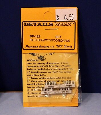 (Pilot Beam with Footboards BP-192 - HO Scale Diesel Part - Details West)