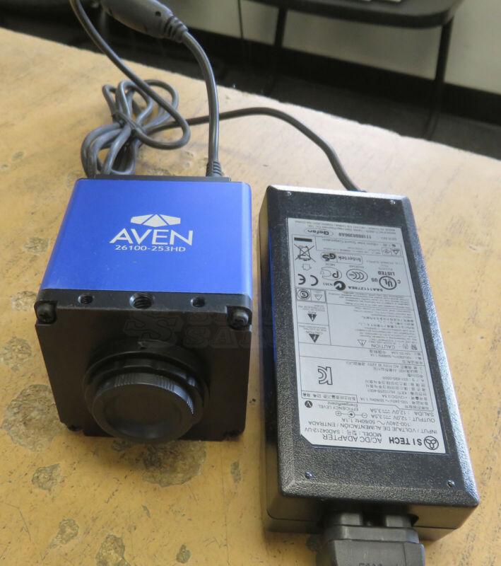 Aven 26100-253HD 1080P HD Color Camera