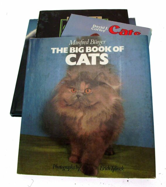 Cat Books Cat Lover Gifts Large Cat Books Collection Of 9 Books