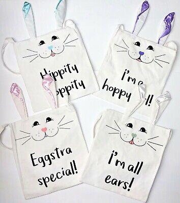 Easter Egg Basket Bag for Kids Bunny Bags Carry Egg Candy Gift Cute Handbag New - Halloween Gift Baskets For Kids