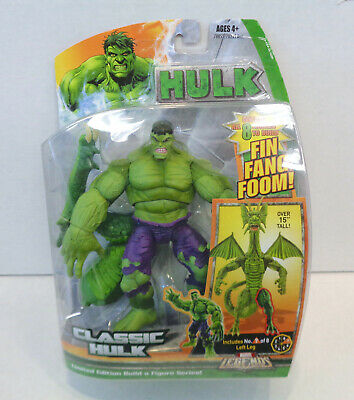 Marvel Legends: Classic Hulk Action Figure (2007) Hasbro New Fin Fang Foom BAF