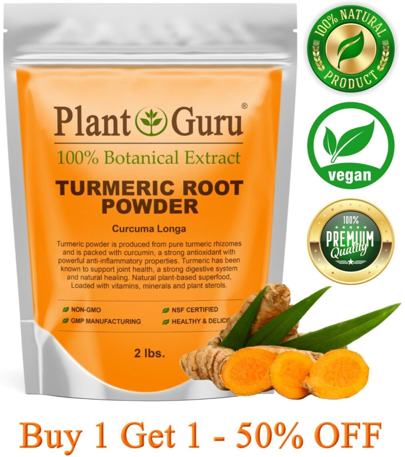 Turmeric Root Powder 2lb Pure Curcumin Organic Curcuma Longa