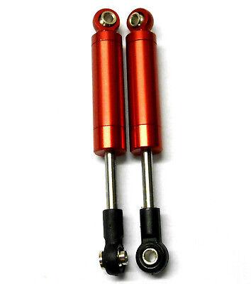 1/10 Escala RC Off-Road sin Resorte Amortiguador Aleación 100mm Long Rojo