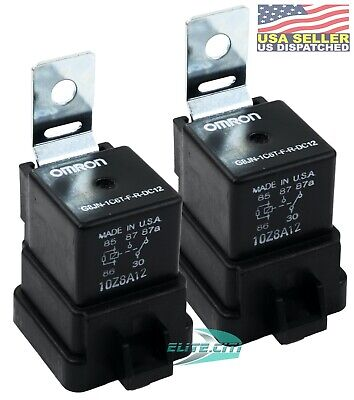 Pair Power Trim Tilt Relay For Mercury Outboard Motor American Made In Usa