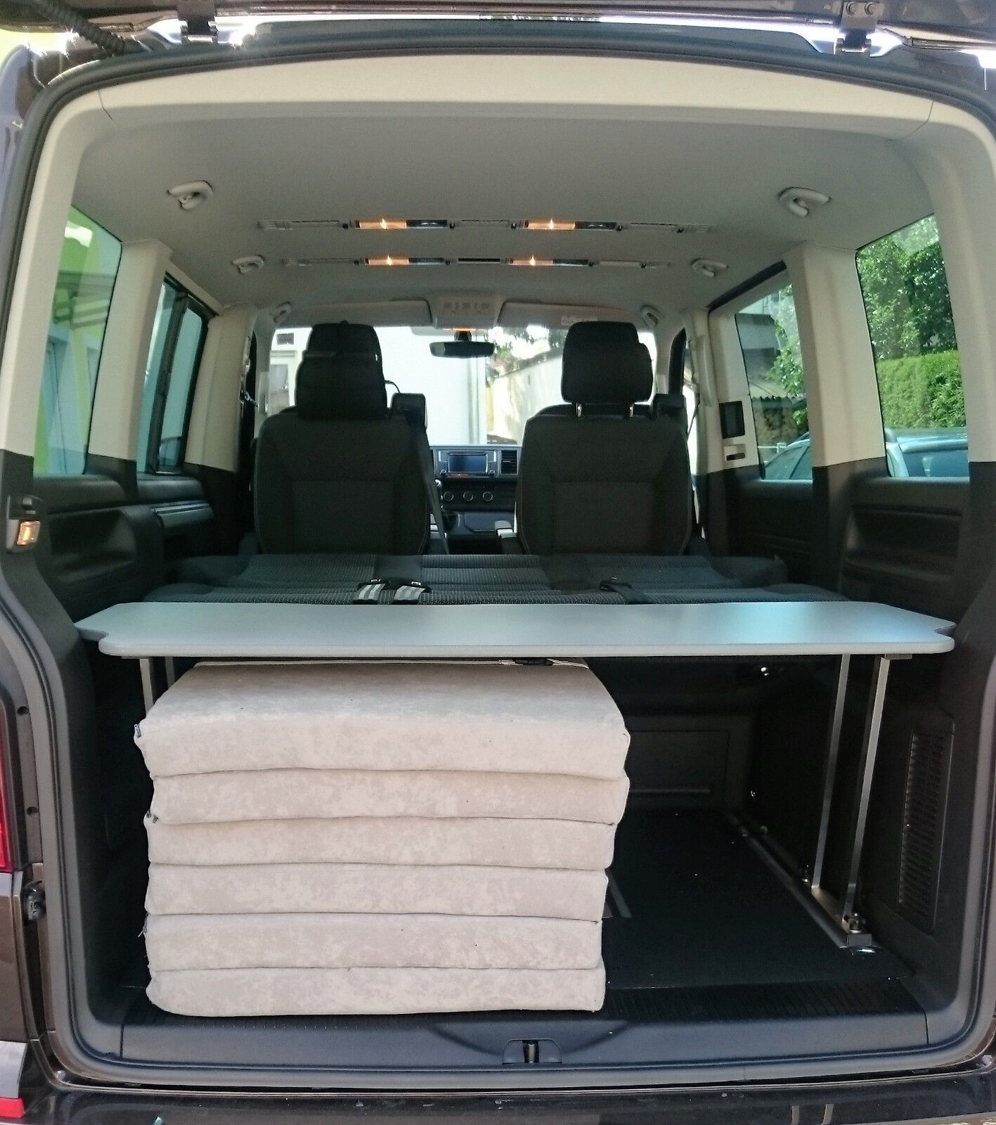 vw t5 t6 multiflexboard cardine board grigio. Black Bedroom Furniture Sets. Home Design Ideas