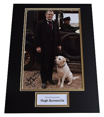 Hugh Bonneville Signed autograph 16x12 photo display Downton Abbey TV AFTAL COA