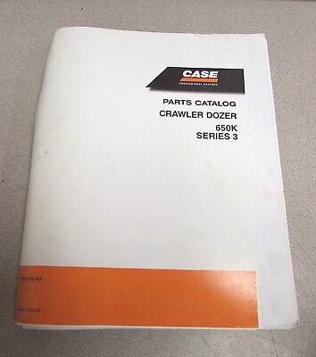 Case 650k Series 3 Iii Crawler Dozer Parts Catalog Manual 2006 87364208 Na