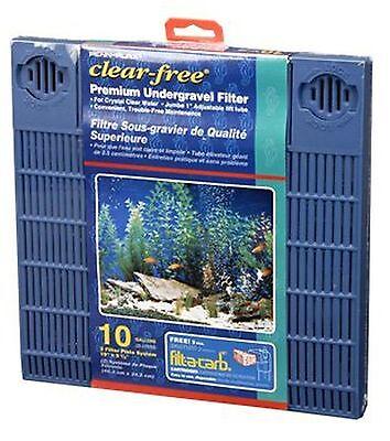 Premium Undergravel Filter - 10 Gallon Aquarium - CFU10 - Penn Plax